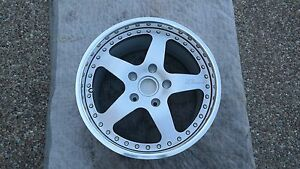 Ruf Porsche New Zoll Modular 3 Piece Factory 1 Single 18 Rear Wheel By Oz