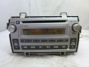 11 12 13 14 Toyota Matrix Radio Cd Player 86120 02c40 D1818 Rp2016