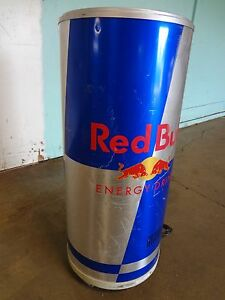 vestfrost Commercial red Bull Refrigerated Bottle Can Display Merchandiser