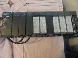 Ge Fanuc 90 30 Rack With Power Supply Cpu And Modules