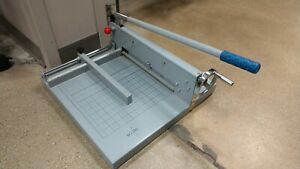 Stack Paper Vinyl Sheet Guillotine Style Cutter 12 Mouth Commercial Grade A4 B7