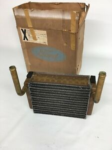 Nos 1962 62 Ford Galaxie Fairlane C2az 18476 a Heater Core Assembly