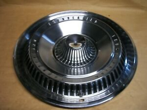 1965 Ford Thunder Bird Hubcap 15 Wheel Cover