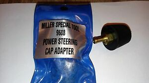 All Cars Trucks Power Steering Air Removal Adapter Brake Clutch Bleeder