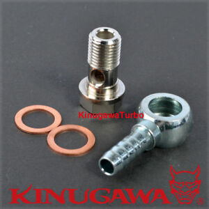 Kinugawa Turbo Water Banjo Fitting M18x1 5 To 3 8 9 5mm Hose Barb Gt40 Gt42