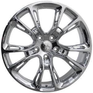 20 Chrome Srt Style Wheels Fits Jeep Grand Cherokee Commander 5x127 20x8 5