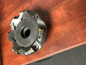 Mitsubishi 4 Indexable Face Mill W Bt40 Shank be445r0407e