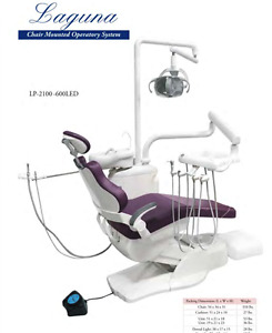 Tpc Laguna Dental Chair Mounted Operatory System Lp 2100 600 Led No Cuspidor
