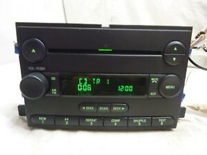 05 06 Ford Freestyle Five Hundred Am Fm Radio Cd Player 6f9t 18c869 Bb Ch64