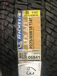 2 New 275 65 18 Michelin Ltx A T2 Tires