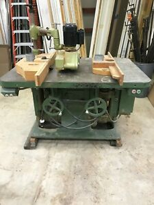 Buss Double Spindle Wood Shaper