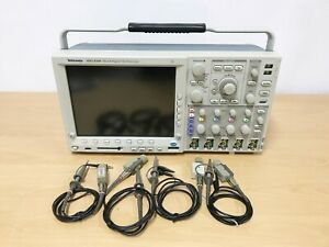 Tektronix Mso4104 1ghz 5gs s 4ch Oscilloscope With P6139a Probes