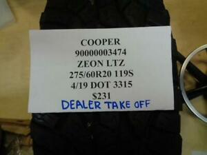 1 Dealer Take Off Cooper Zeon Ltz 275 60 20 119s Tire Wo Label 90000003474 Q9