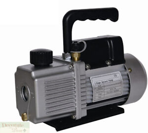 Vacuum Pump Air Conditioner Refrigeration 12 0 Cfm 2 Stage 1hp Hvac r 110v New