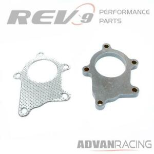 Rev9 Ac 046 5 Bolt Flange And Gasket For Standard T3t4 Turbo Exhaust Downpipe