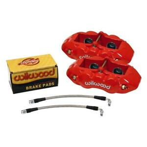 Wilwood 140 10790 R D8 4 Rear Caliper Kit 1965 82 Corvette C2 C3