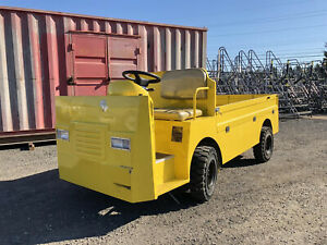 Eagle Electric Utility Cart Vehicle 48v 5kw Manual Transmission Year 2017
