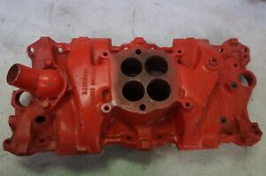 1966 Corvette Chevelle 300 325hp 327 Engine Intake Manifold 3844459 rf4