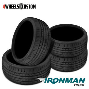 4 X New Ironman Imove Gen 2 As 245 35 20 95w High Performance Touring Tire