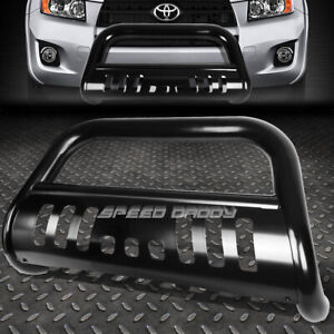 For 06 16 Toyota Rav 4 rav4 Matte Black 3 bull Bar Push Bumper Grille Guard skid