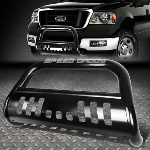 For 04 16 Ford F150 Non ecoboost 03 expedition Black Bull Bar Push Bumper Guard
