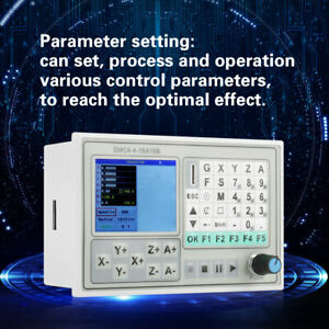 Smc4 4 16a16b 4 Axis Cnc Controller Kit For Carving Machine Control System New