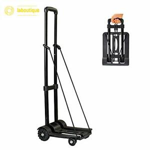 Wincspace Lightweight Folding Hand Cart Dolly Fold Up Hand Truck Portable
