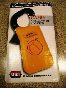 Uei Ac Clamp On Adapter Ca383 New In The Box