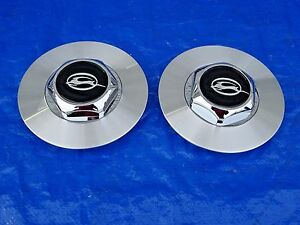 94 95 96 Chevy Impala Ss 17 5 Spoke Wheel Hub Center Caps Cap Pair