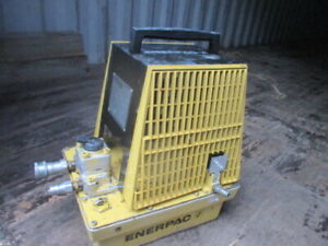 Enerpac Pam 3042 Air Powered Hydraulic Pump 4 Way Manual Valve Great Condition
