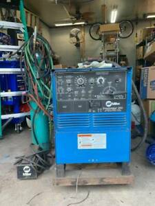 Miller Syncrowave 250 Ac dc Tig Welding Machine Excellent W Gas