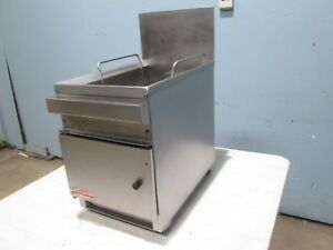 cecilware Heavy Duty Commercial 18lbs Counter Top Natural Gas Deep Fryer