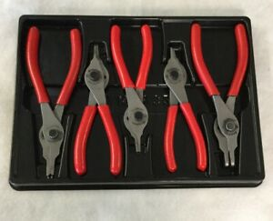 Snap On 5 Piece Set Snap Ring Pliers Pakty327
