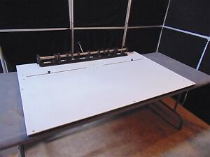 Chesley F Carlson Plate Punch 48 Long 51 long X 33 Wide S4082