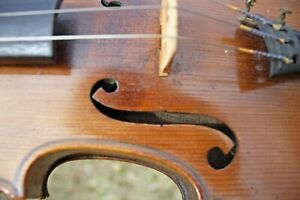 Old Vintage Antique 4 4 German Stradiuarius Violin Ca 1930 1311