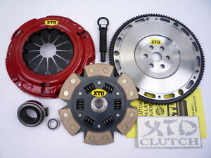 Stage 3 Clutch Racing Flywheel Kit 92 05 Civic Del Sol d Series Motor