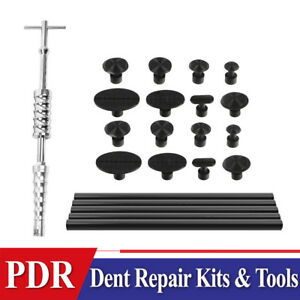 Set Auto Body Dent Repair Paintless Dent Removal Tools Glue Puller Dent Tools