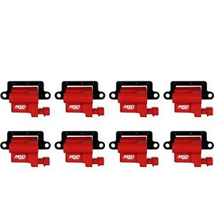 Msd 82648 Blaster Ls Coil For 99 09 Gm L Series Truck 8 Pack