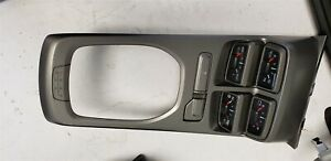 10 15 Camaro Ss Center Console Auxiliary Gauge Package Manual Used Cluster