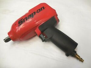 Snap On 1 2 Pneumatic Impact Wrench Mg725 W protective Sleeve boot
