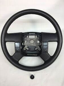 Ford Truck F 150 F150 Steering Wheel 04 05 06 07 08 Black Texture Plastic Rubber