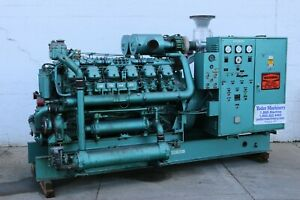 500 Kw Fairbanks Morse Model 500t 12v Stand By Diesel Generator Yoder 58852