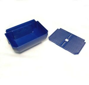 Cab Faby Drip Tray With Cover Blue For Slush Granita Machine