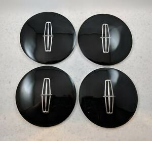 Oem Nos Lincoln Town Car Hubcap Center Cap Wheel Emblem Decal Set Of 4 Brand New