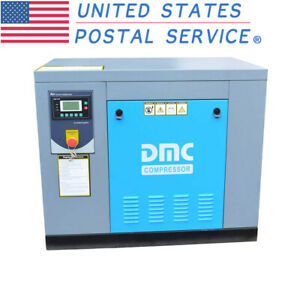 Hpdmc 10hp Rotary Screw Air Compressor 39cfm 115psi 230v f npt outlet G 3 4