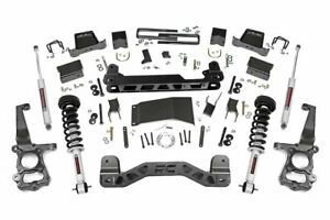 Rough Country 6 Lift Kit Fits 15 19 Ford F150 4wd W n3 Loaded Struts Shocks
