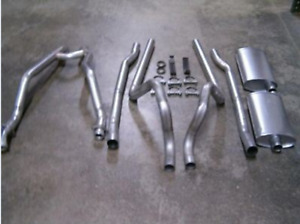 new 64 65 66 67 68 69 70 Mustang 289 302 2 Dual Exhaust Kit W standard Hpipe