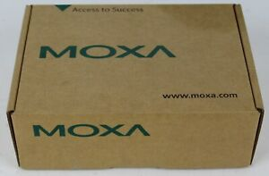 New Open Box Moxa Nport 5410 Serial Device Server 4 port Rs 232 Missing Cable