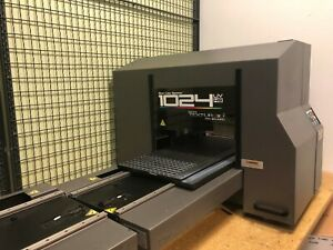 Direct Jet 1024 Uvhs Printing Machine With Rip 9 Software