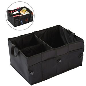 Trunk Cargo Organizer Folding Collapsible Caddy Storage Bag Bin Car Truck Suv